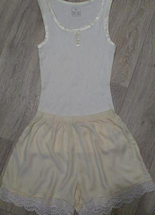 Нежная пижама, комплект для дома  esmara/jolinesse р.евро xs- s 36-38 (наш 40-44)