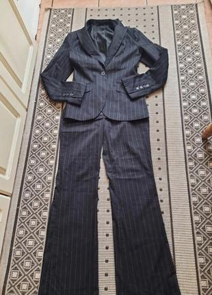 Классический брючный костюм h&m