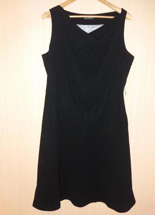 Платье миди 52 размер