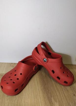 Шлепанцы crocs m1w3 наш 32-33 оригинал.