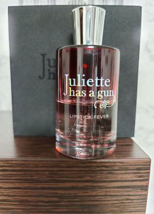 Juliette has a gun lipstick fever парфюмированная вода