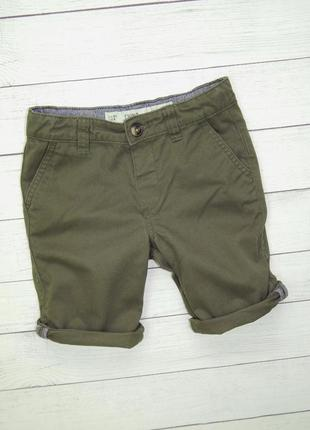 Стильные шорты хаки от denim co, для мальчика 5-6 лет.