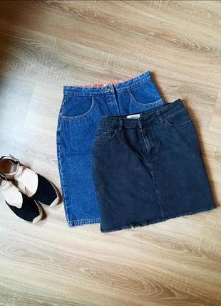 Юбка джинсовая спідниця
