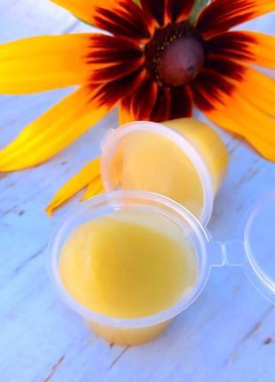 Безводный органический крем вокруг глаз на пчелином воске, 8 гр
