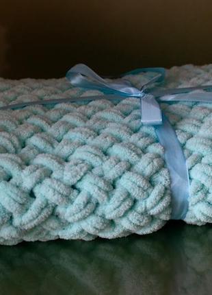 Детское плюшевое одеяло/плед 85х85см