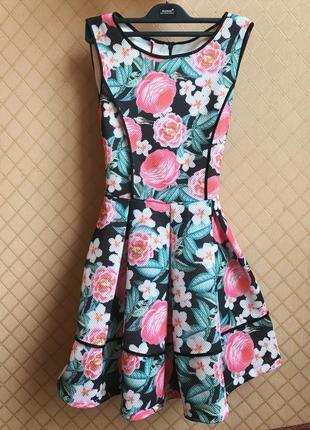 Платье а-силуэт италия imperial размер s/m