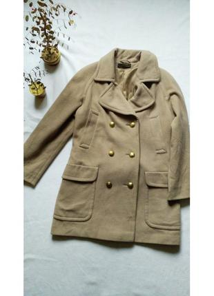 """Винтажное пальто - oversize st.michael от """"marks & spencer"""" из шерсти и кашемира"""