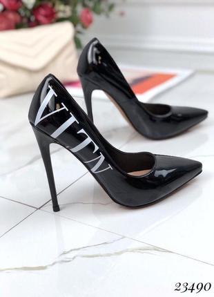 Туфли в стиле valentino🖤