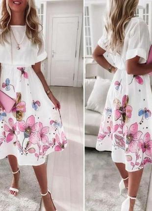 Костюм летний юбка+ футболка
