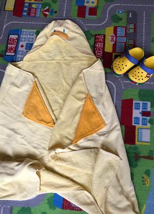 Пляжное полотенце утенок