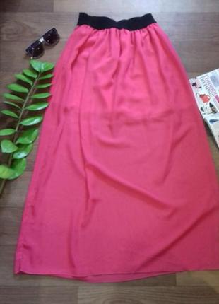 Длинная юбка макси