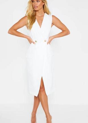 Сукня піджак міді