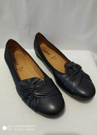 Кожаные туфли gabor hovercraft