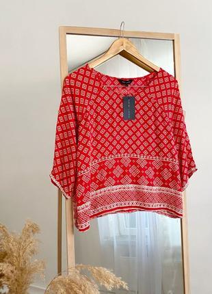 Легкая блуза, топ в этно стиле new look