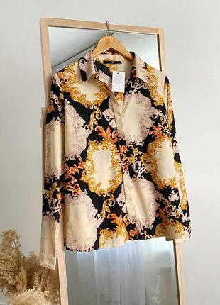 Шикарная рубашка в принт v by very