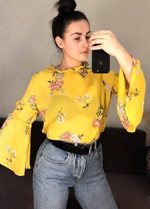 Шикарная блуза стильная шифон