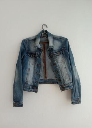 Джинсова куртка від philipp plein