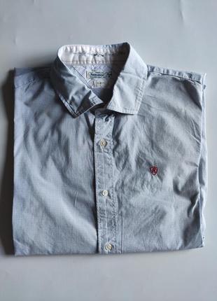 Рубашка replay xl cotton slim fit