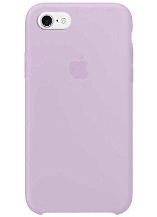 """Чехол для apple iphone 7 / 8 (4.7"""") (серый / lavender)"""