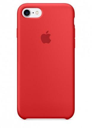 "Чехол для apple iphone 7 / 8 (4.7"") (красный / red)"