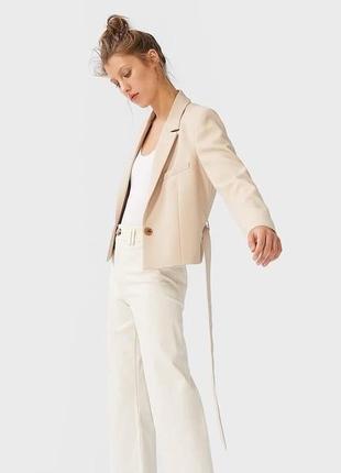 Базовый укорочённый пиджак