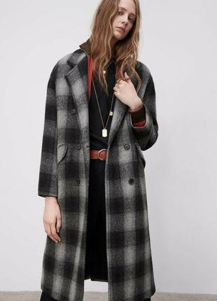 Пальто оверсайз  из шерсти