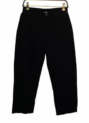 Чёрные новые  джинсы колоды британского бренда lucy & yak