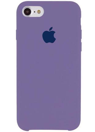 "Чехол silicone case (aa) для apple iphone 7 / 8 (4.7"") (серый / lavender gray)"
