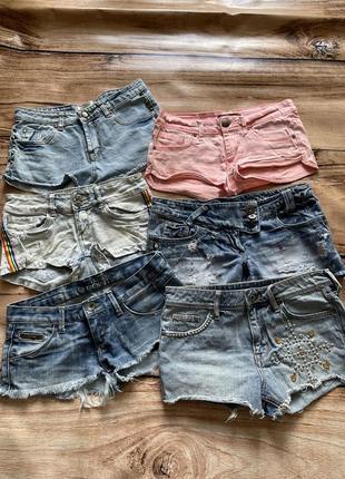 Шорти джинсові, короткі шорти