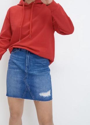 Джинсова спідниця/ джинсовая юбка mohito