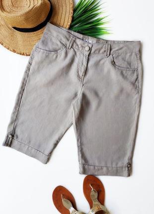 Льняные шорты george.2 фото