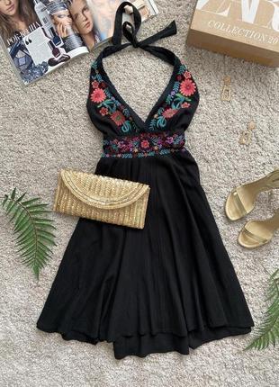 Распродажа!!! платье сарафан с вышивкой №580