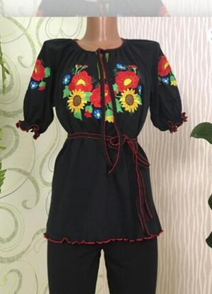 Блуза-вышиванка