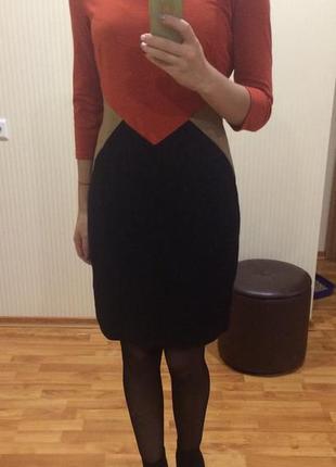 Шикарное трикотажное платье от   wallis