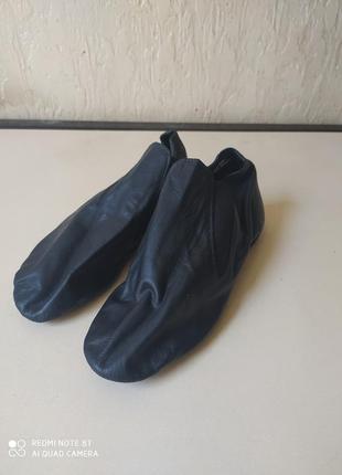 Чешки, взуття для танців, розмір 40, шкіра