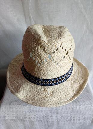 Шляпа женская even&odd германия размер 56/s 100% соломка, бумага