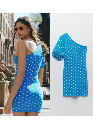 Платье тонкой вязки zara