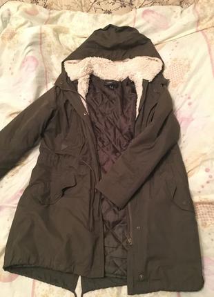 Куртка парка mango