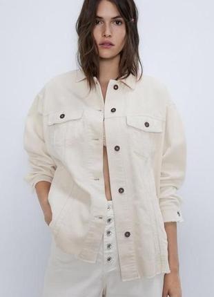 Вельветовая куртка рубашка zara