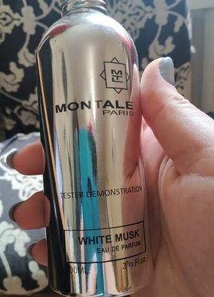 Парфумированная вода montale white musk унисекс