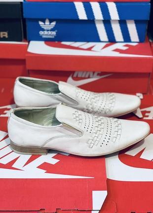Кожаные летние туфли. много обуви!!!