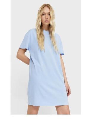 Плаття футболка stradivarius