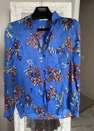 Тончайшая. рубашка от известного бренда