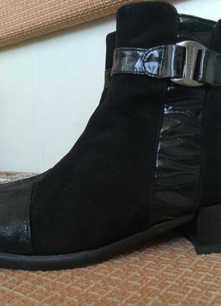 Супер ботиночки из натур. кожи.2 фото