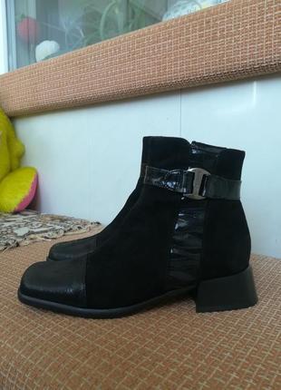 Супер ботиночки из натур. кожи.