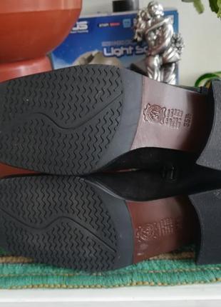 Супер ботиночки из натур. кожи.5 фото