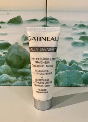 Франция 🇫🇷 люкс gatineau очищающее антивозрастное средство melatogenine refreshing cleansing cream