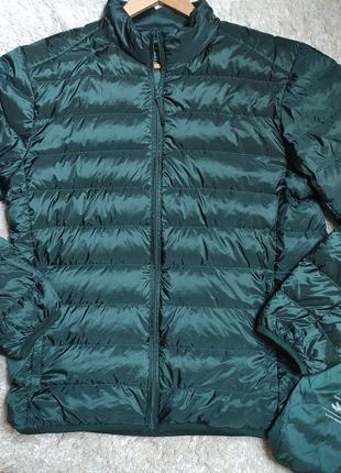 Ультралегкий тонкий классный пуховик john adams premium down jacket