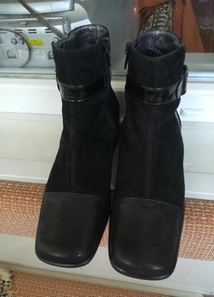 Супер ботиночки из натур. кожи.7 фото