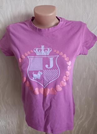 Juicy couture брендовая футболка джуси кутюр1 фото